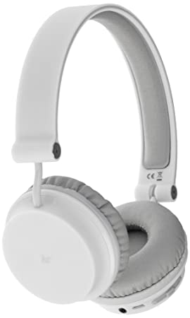 KitSound Metro Diadema Binaural Inalámbrico Blanco: Amazon.es: Electrónica