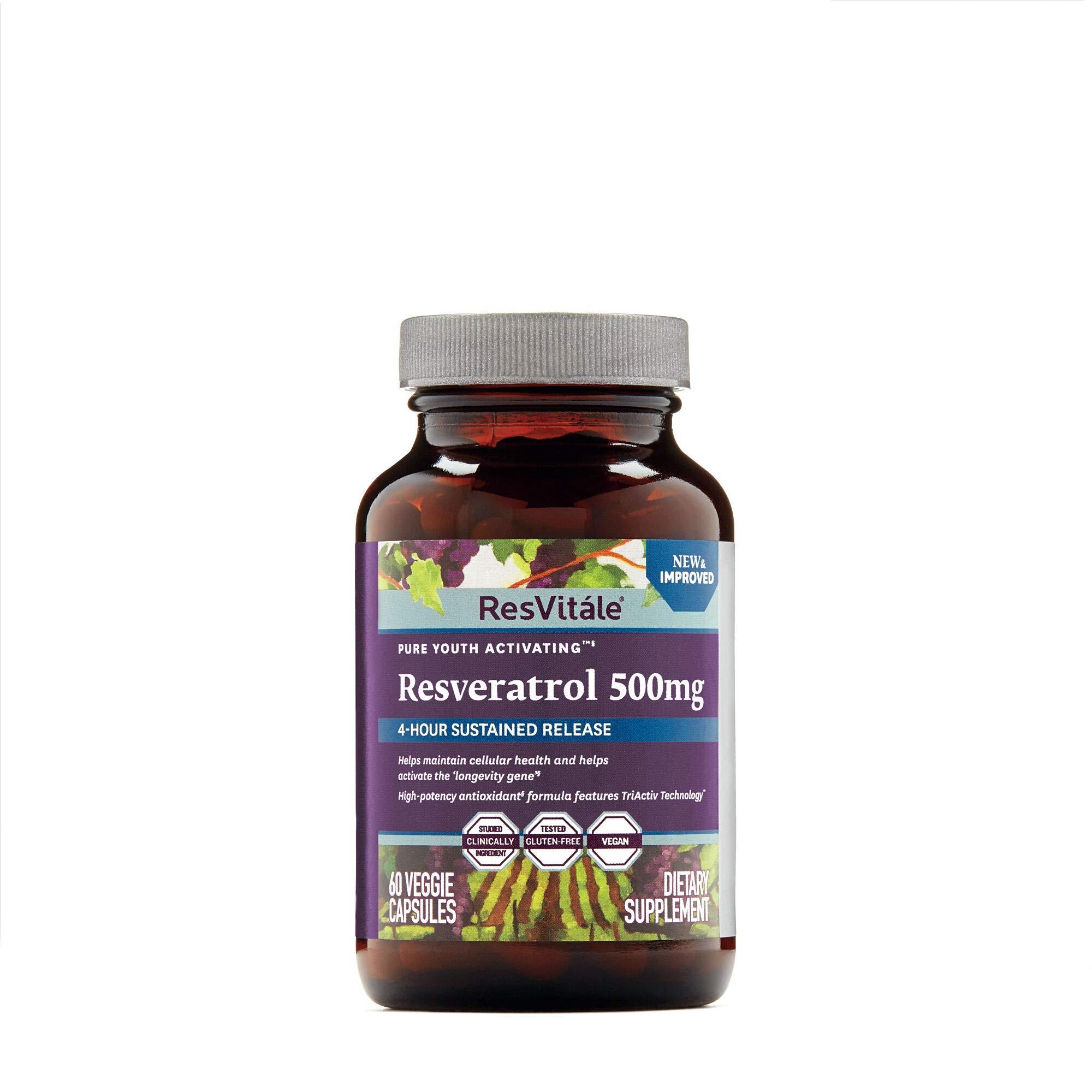ResVitle Resveratrol 500mg by ResVitáleTM