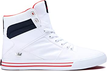 2ae09e1a5a Supra Aluminum High Top Lace Up Sneaker Shoes