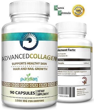 Colageno Hidrolizado Avanzado Pastillas Naturales - Reconstruye El Cartilago Que Pueda Tomar Control Del Dolor De