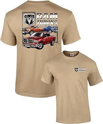 Trenz Shirt Company Dodge T-Shirt Dodge RAM Trucks