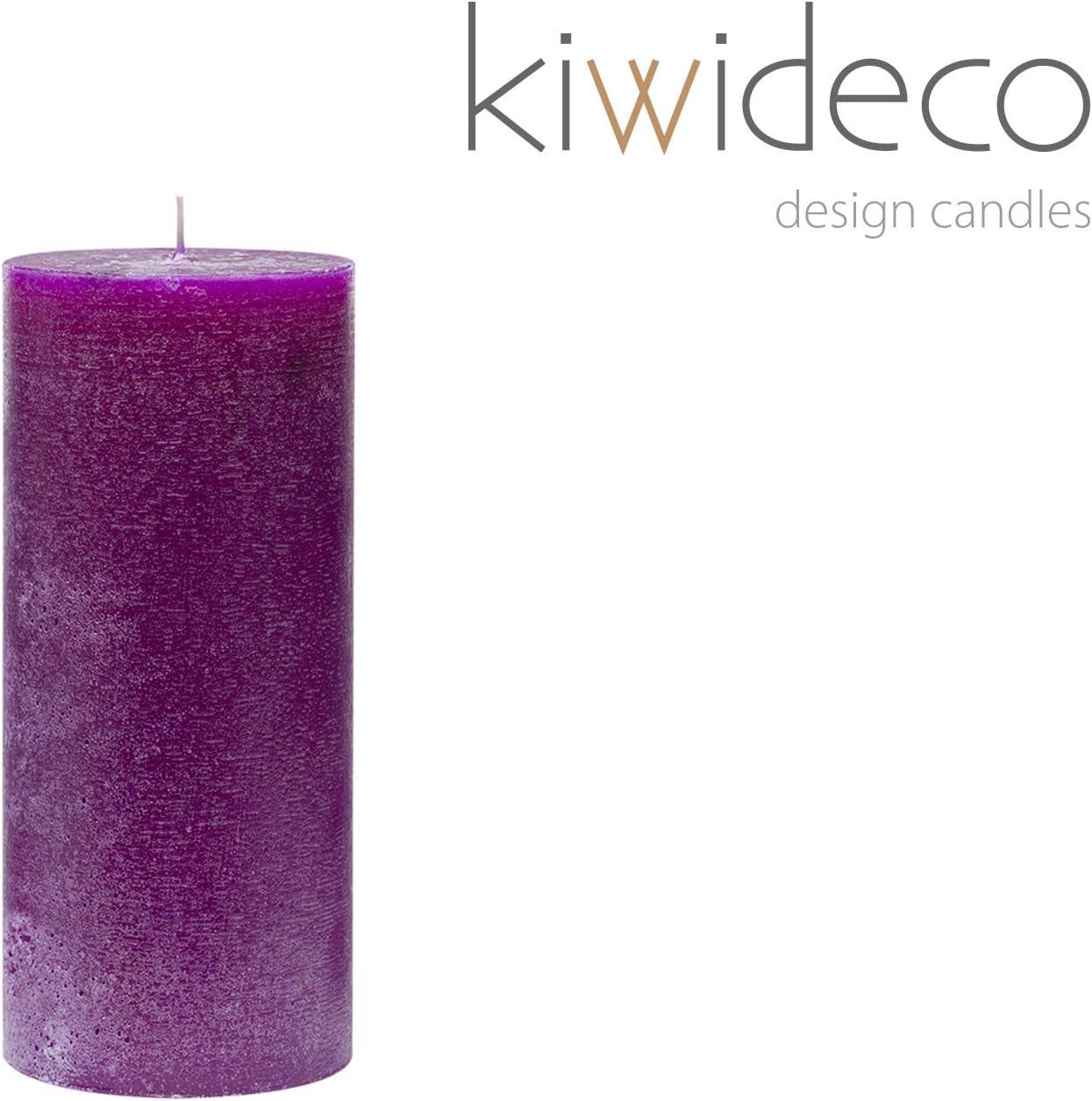 Handmade Purple Pillar Rustic Candle Candles Scandinavian Design Home Decor For Modern Interior Design Amazon Co Uk Kitchen Home