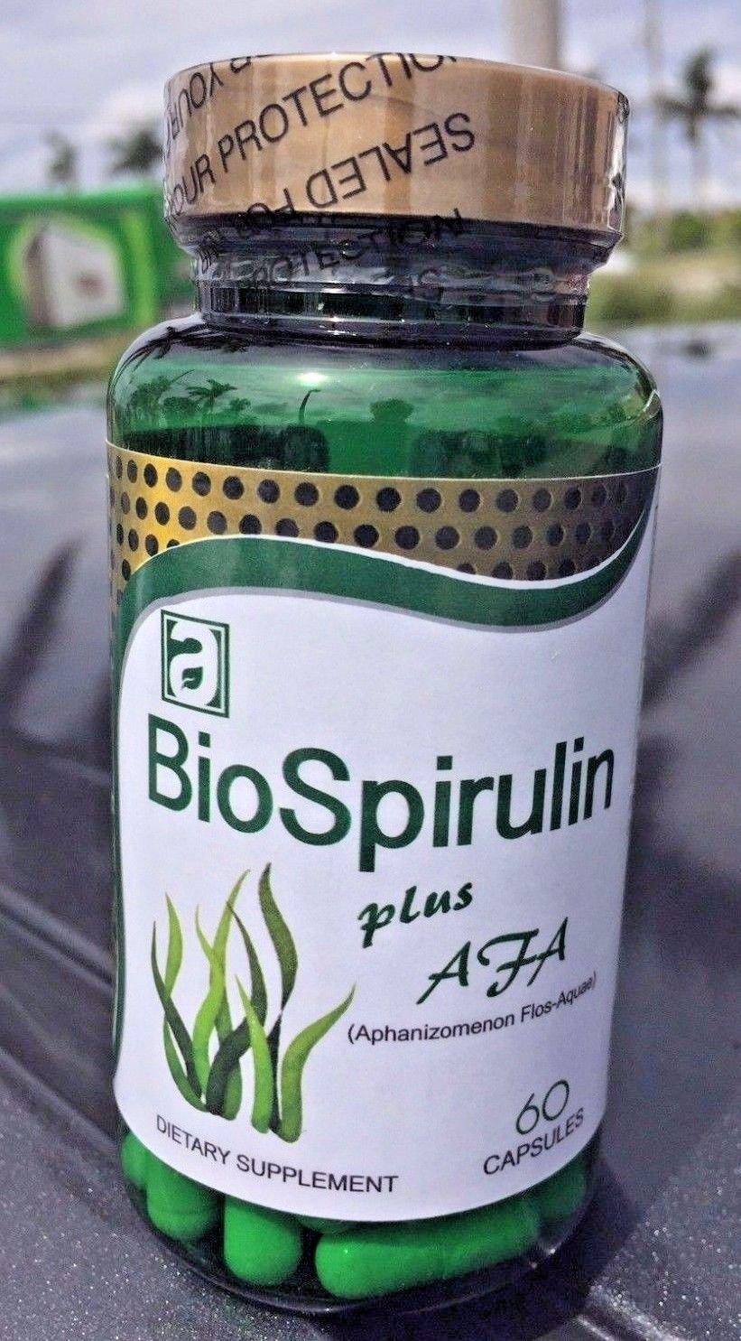 Amazon.com: BioSpirulin Plus AFA (Aphaminozen Flos - Aquae) Dietary ...