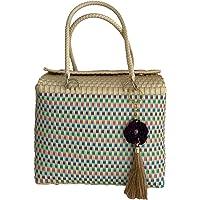 Bolsa artesanal para playa. MINOT Zihuatanejo Handbag