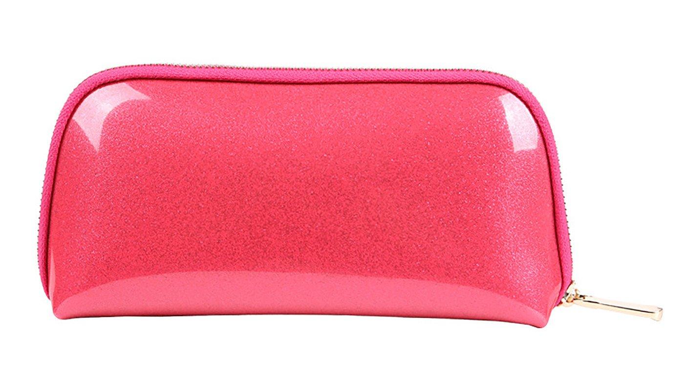 Vigourtrader Unisex Cosmetic Bag Candy Color Evening Party Makeup Purse Pouch Handbag Clutch Waterproof
