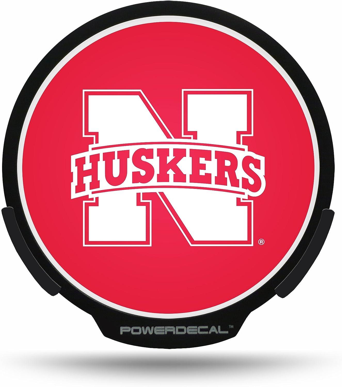 Football Fanatics NCAA Nebraska Cornhuskers Backlit LED Motion Sensing Powerdecal