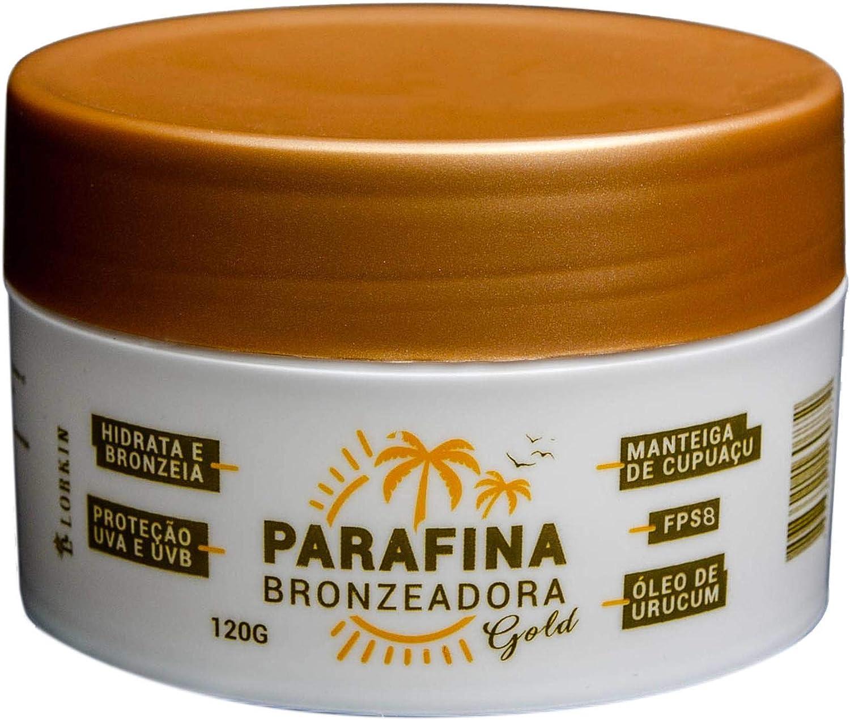 Parafina Bronzeadora GOLD 120g Lorkin FPS8