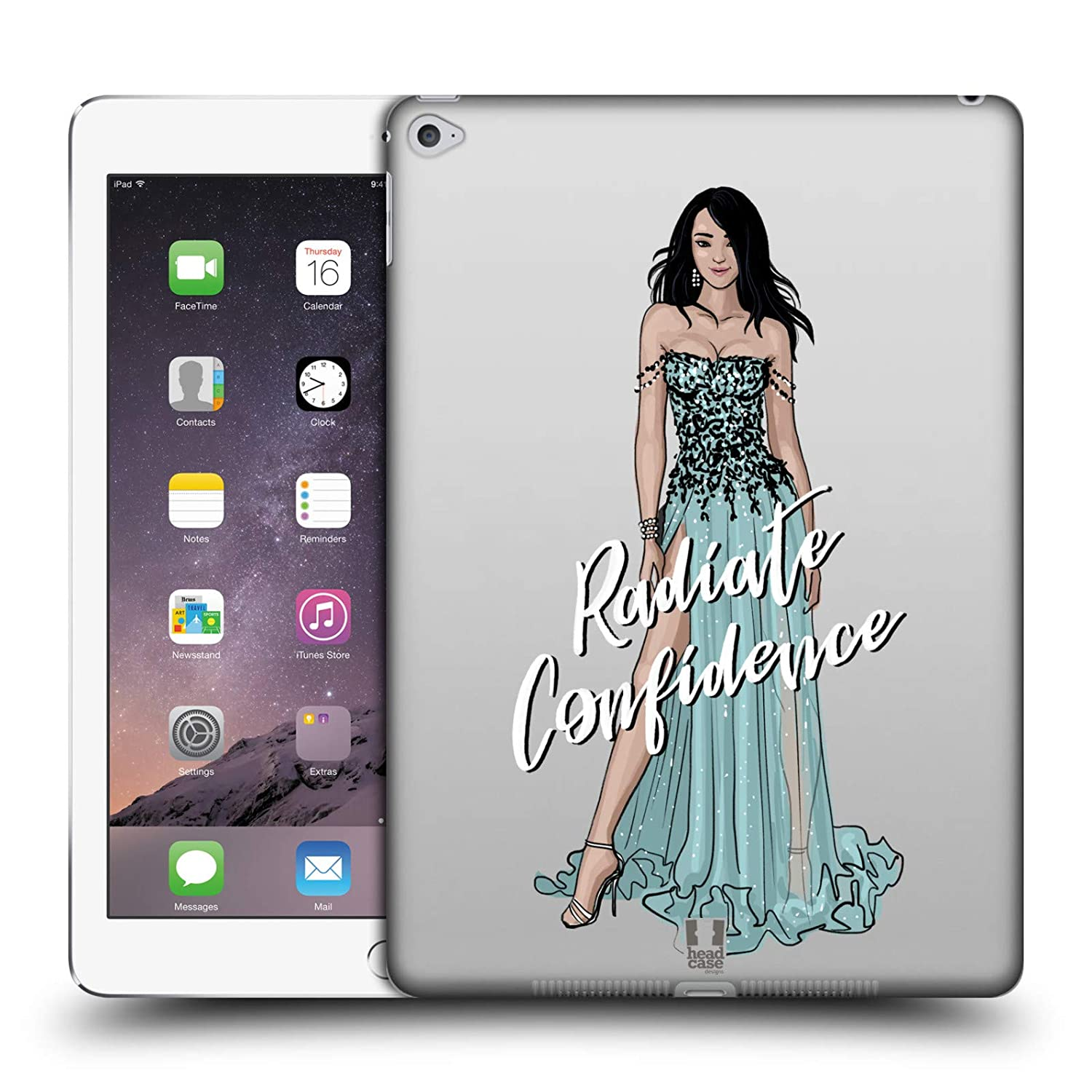 Amazon.com  Head Case Designs Island Girl Beauty Women s Diversity Hard  Back Case for iPad Air 2 (2014)  Cell Phones   Accessories c0e33003d8