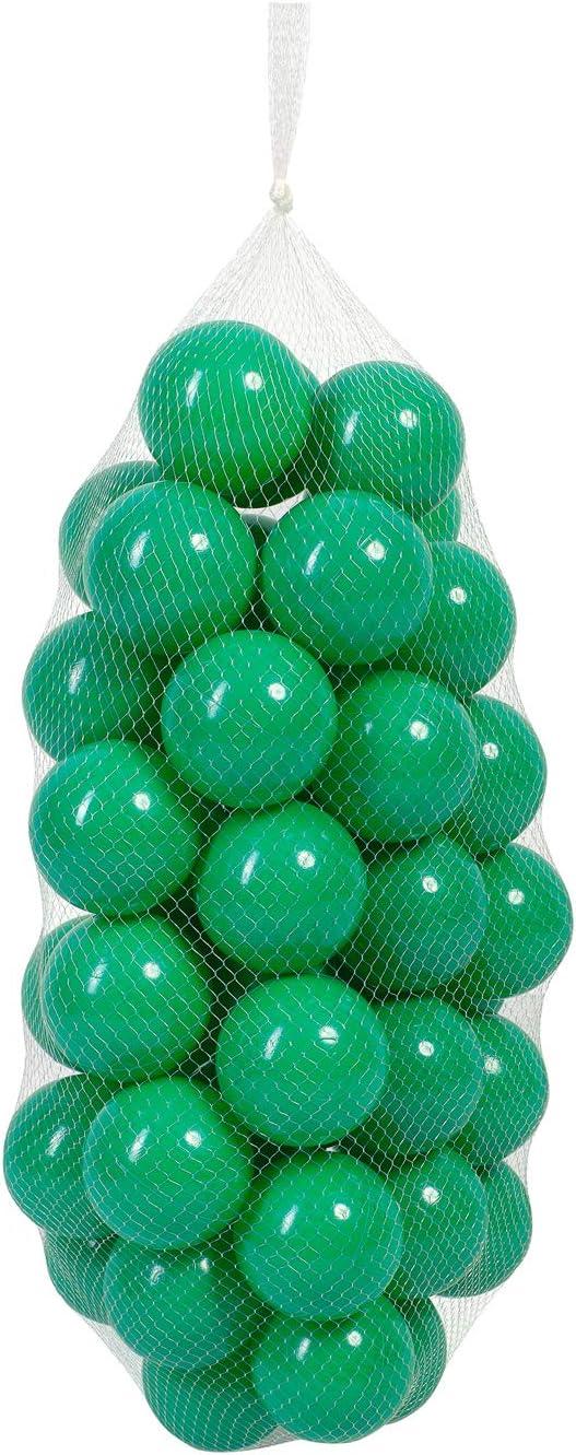 50 B/älle // 7 cm, T/ürkis millybo B/älle f/ür Kinder B/ällebad 7 cm Plastikb/älle Kinderb/älle Spielb/älle viele Farben