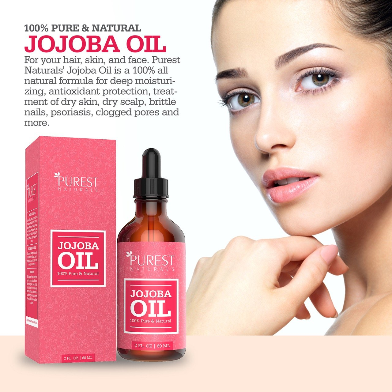 Amazon.com : Purest Naturals Organic Jojoba Oil - Best Carrier Oil ...