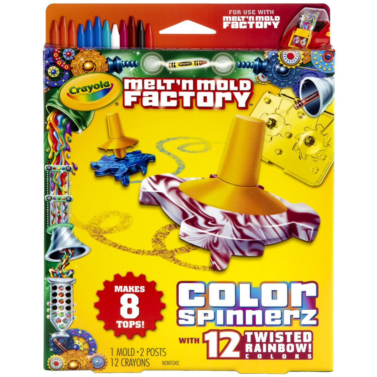 Crayola Melt 'N Mold Color Spinnerz Expansion Pack