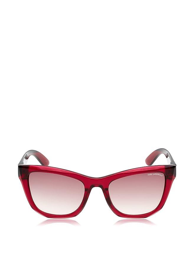 Karl Lagerfeld Gafas de Sol KL870S-141 (51 mm) Rojo: Amazon ...