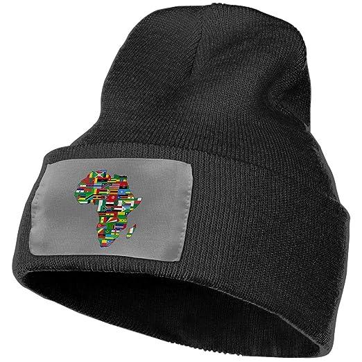 Beanie Hat Knit Hat Cap African American Pride Unisex Cuffed Plain Skull  Knit Hat Cap Head 7390023c61a
