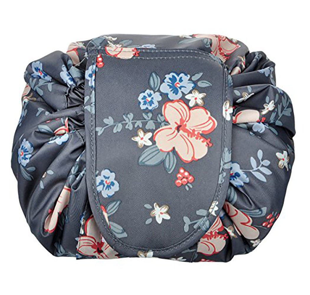 55e4eb31f4a2 Portable Drawstring Cosmetic Bag Large Capacity Lazy Travel Makeup Pouch  magic Toiletry Bag for...