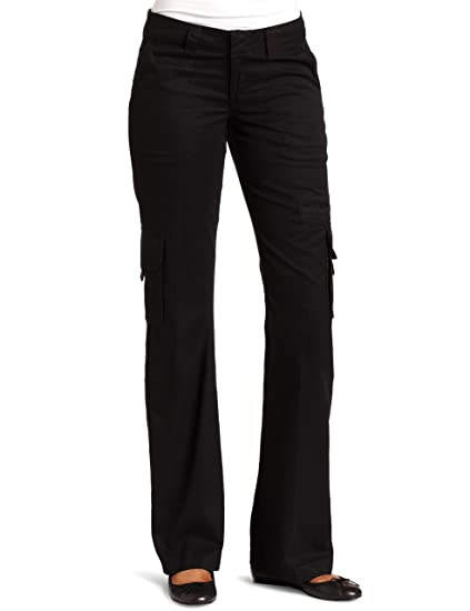 151bc58da3cca Dickies Women s Relaxed Fit Straight Leg Cargo Pant Fade   Wrinkle ...