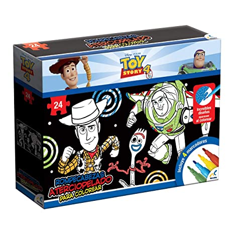 Novelty Toy Story 4 Rompecabezas Aterciopelado Para Colorear