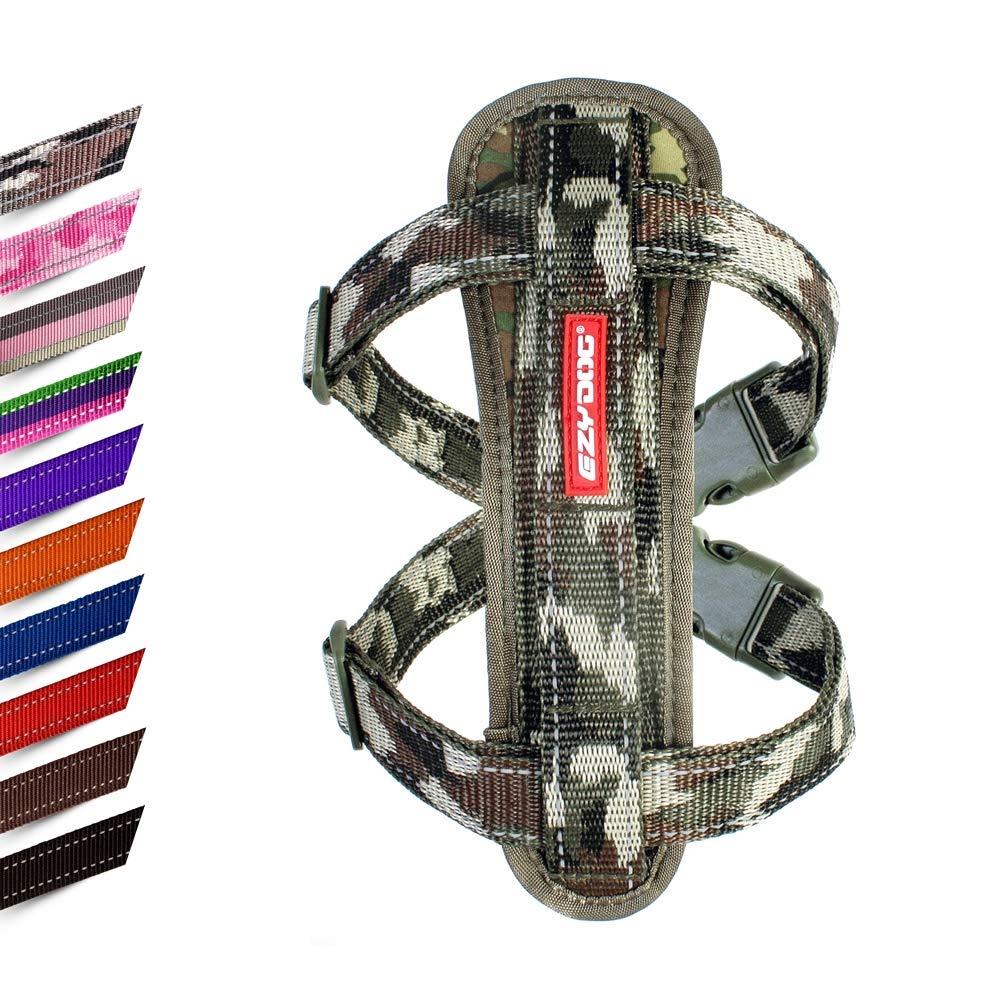 Candy Stripe Chest Plate Harness EzyDog Dog Harness Medium