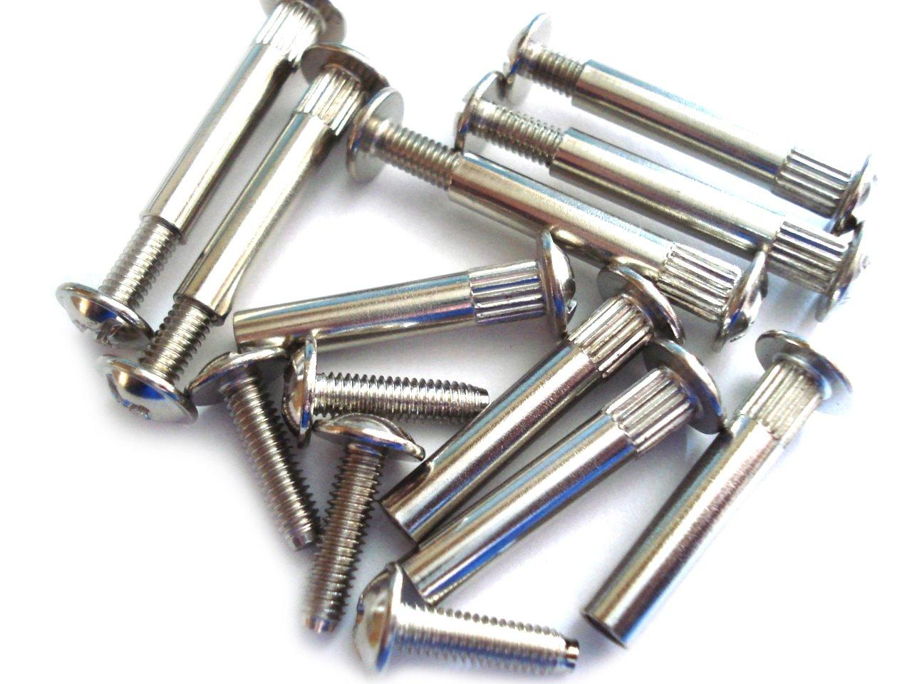 24 Küche Anschluss Schrauben Schrauben M4 bis für 5 mm Löcher ...