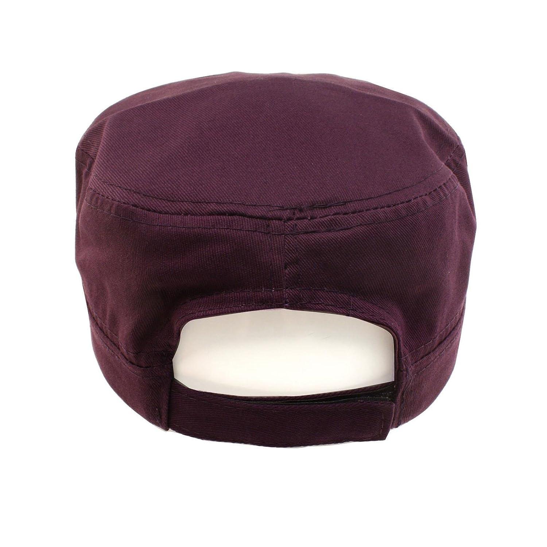 45df293554650 Cute Jewel Rhinestone Bling Bling Visor Cadet GI Castro Cap Hat Adjustable  Purple at Amazon Women's Clothing store: