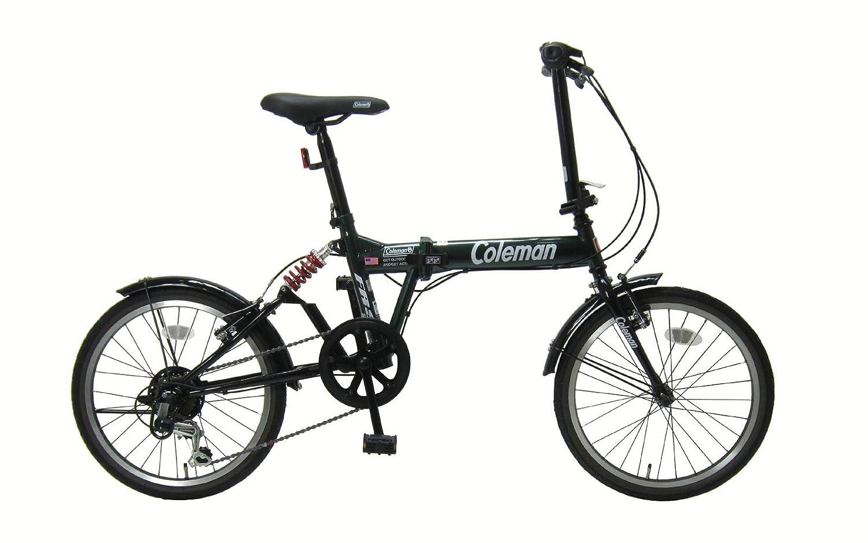 コールマン(Coleman) 折りたたみ自転車 20インチ シマノ外装6段変速 リアサスペンション付き タイヤサイズ20x1.5 B07C6WR63Bグリーン