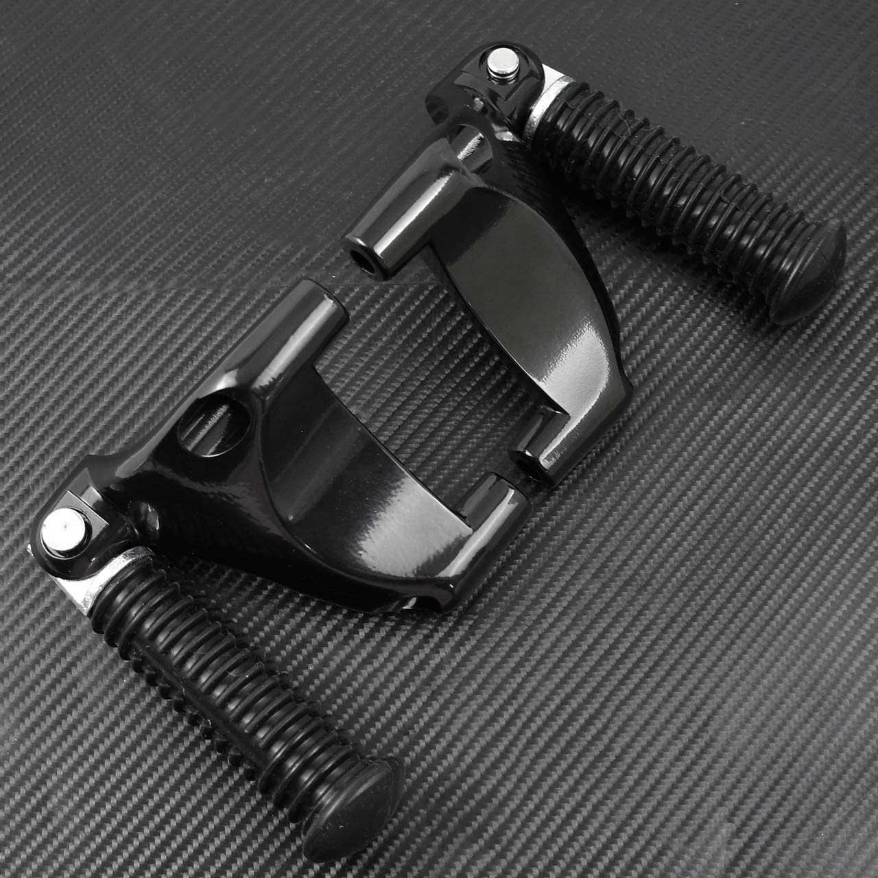 Motorcycle Rear Passenger Foot Pegs Footpegs Foot Rests Pedal /& Mount For Harley Sportster XL883 XL1200 2004-2013