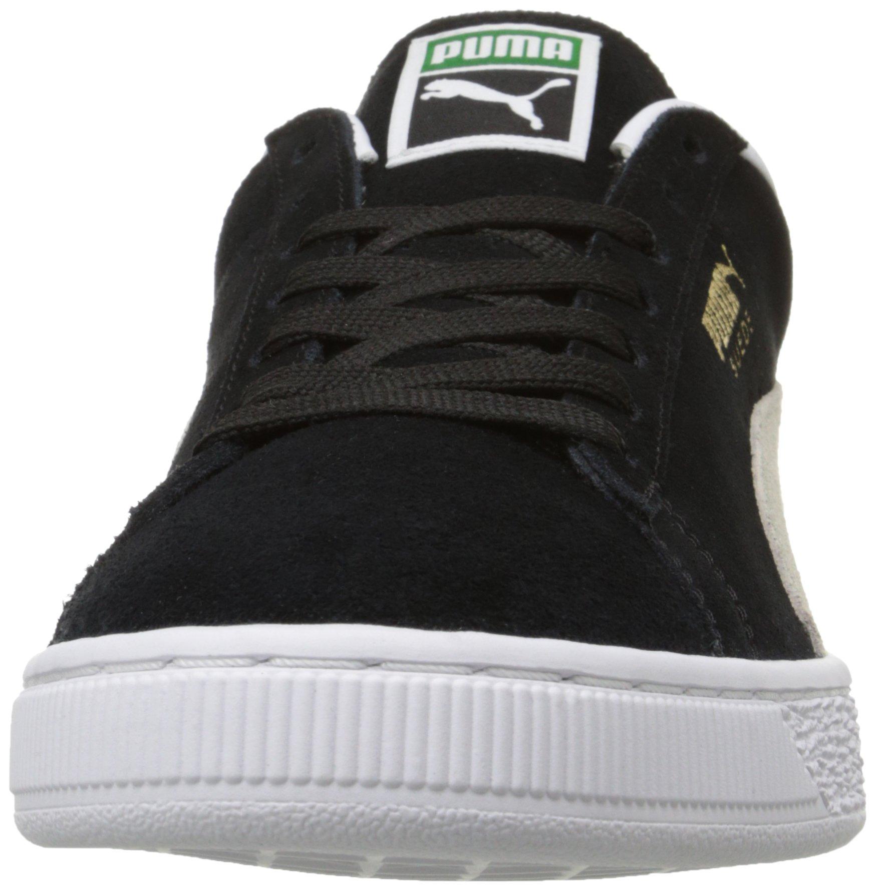 PUMA Suede Classic Sneaker,Black/White,9.5 M US Men's by PUMA (Image #8)