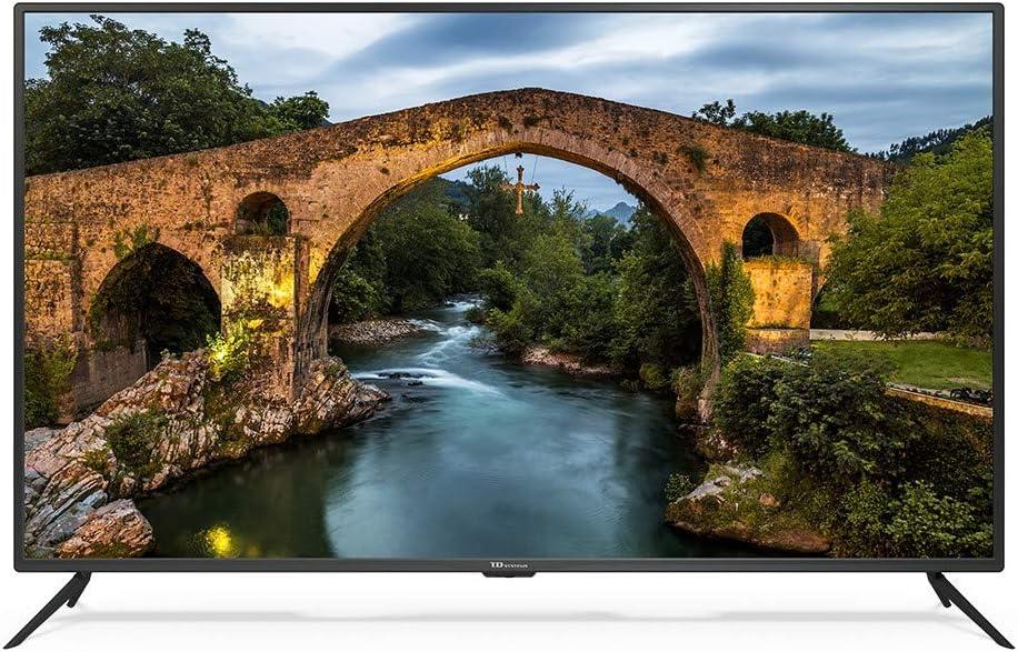 Televisor Led 55 Pulgadas Ultra HD 4K Smart, TD Systems K55DLX9US ...