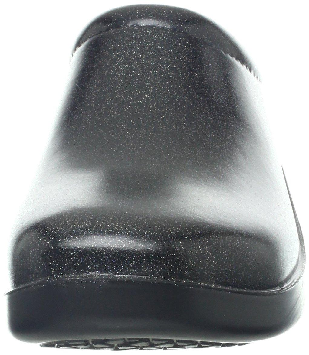 Klogs USA Women's DUSTY Clog,Gloss Black,12 M US by Klogs (Image #4)