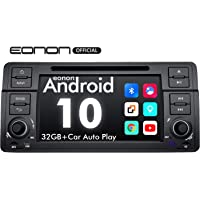 2020 Newest Android Car Stereo Android 10 Double Din Car Stereo, Eonon Car Radio,Support Carplay/Android Auto/WiFi/Fast Boot/Backup Camera-7 Inch-GA9450