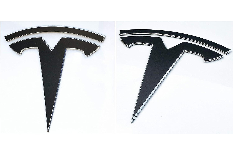 Vinyl Wraps Satin Black Nikola Pro Tesla Model 3 Full Chrome ...