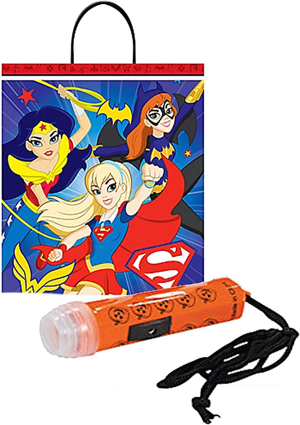 amscan DC Super Hero Girls Happy Halloween Trick or Treat Candy ...