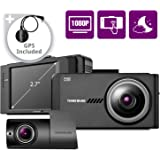 THINKWARE X700 Dual Dash Cam Front and Rear Camera for Cars, 1080P FHD, Dashboard Camera Recorder with G-Sensor, Car Camera W