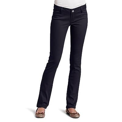 Southpole Juniors BASIC Uniform Low Rise Straight Pant