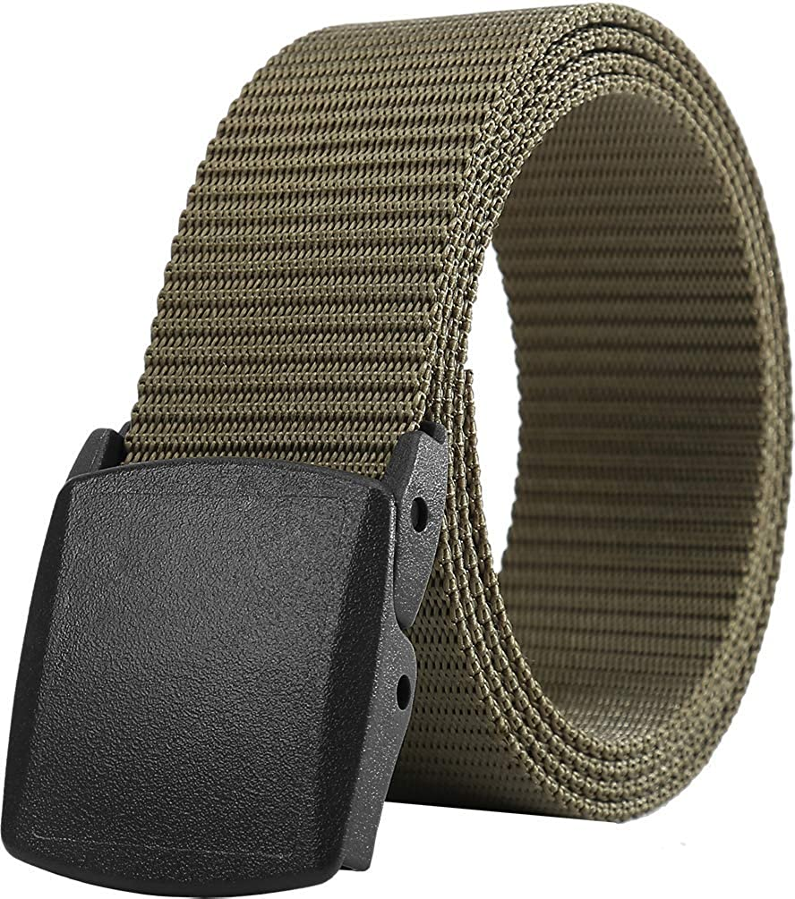 Army Tactical Belt Outdoor Military Soldier Sport Metal Buckle Camo Canvas Safe