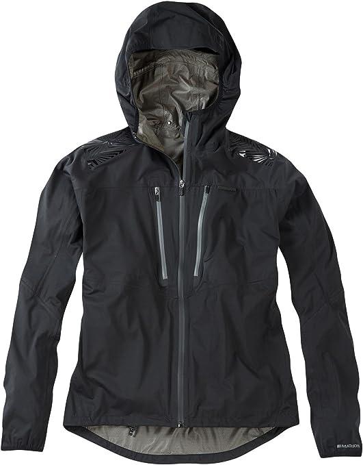 Madison Zenith men/'s lightweight waterproof softshell jacket black new