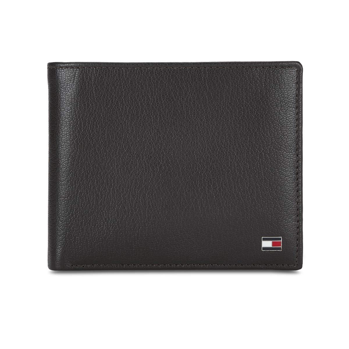Tommy Hilfiger Brown Leather Men's Wallet  8903496150391  Wallets