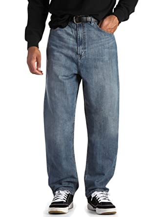 True Nation Big & Tall Loose-Fit Jeans at Amazon Men's Clothing store: