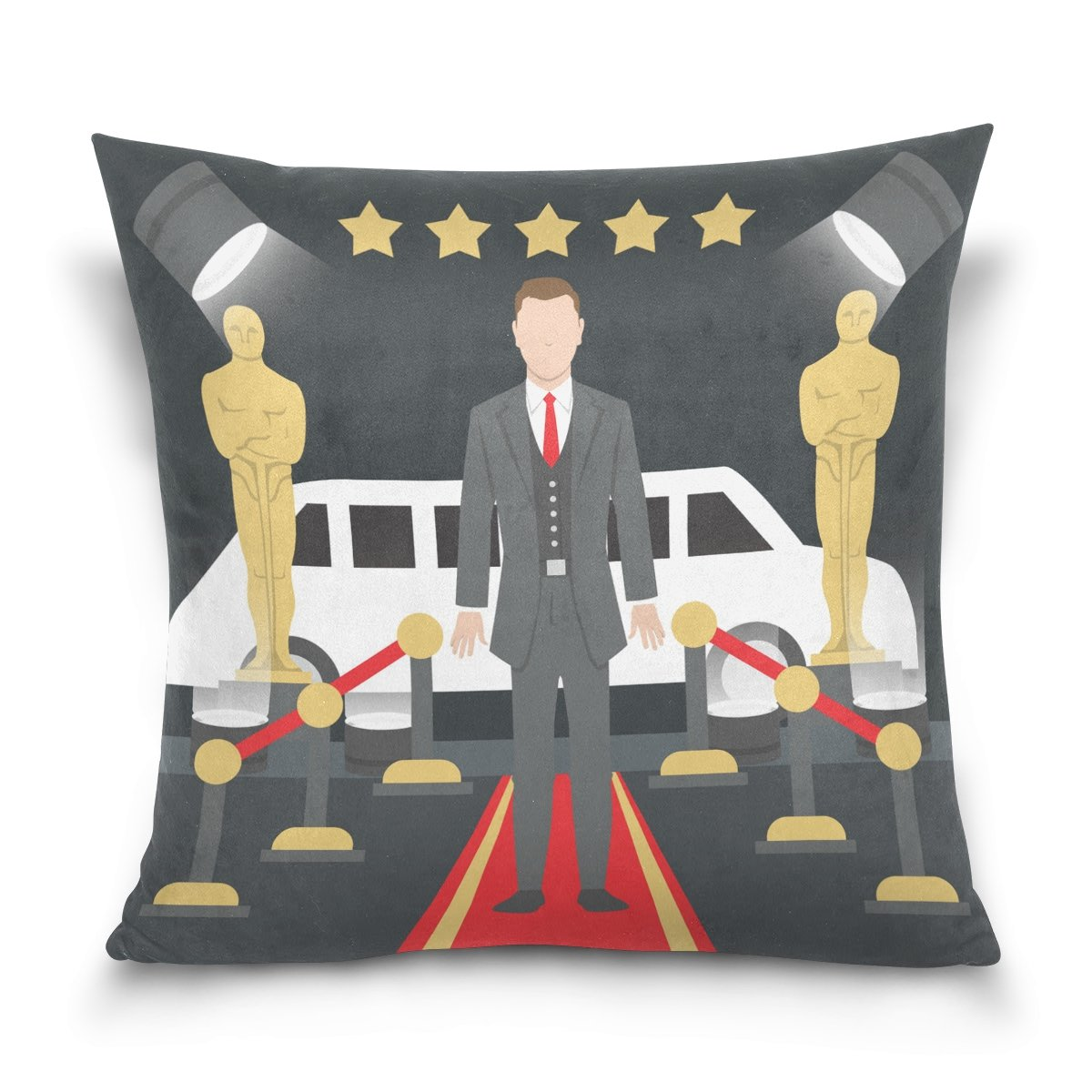 Hokkien Blue Viper Movie Awards Scenes Decorative Square Throw Pillow Case Cushion Cover for Sofa Bedroom Car Double-Sided Design 20 x 20 inch