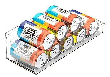 DINY hogar productos bebidas puede organizador, soporte para latas de soda, refrigerador y congelador