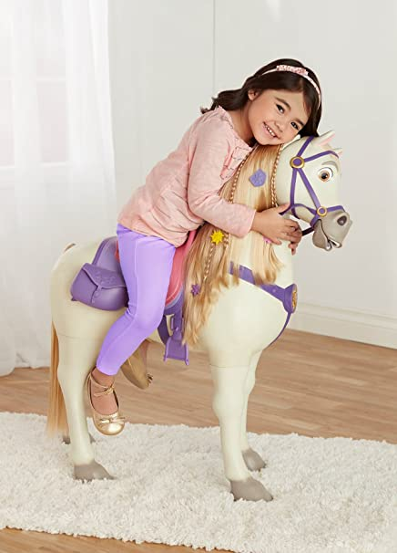 Disney Princess Playdate Maximus with Sounds, White