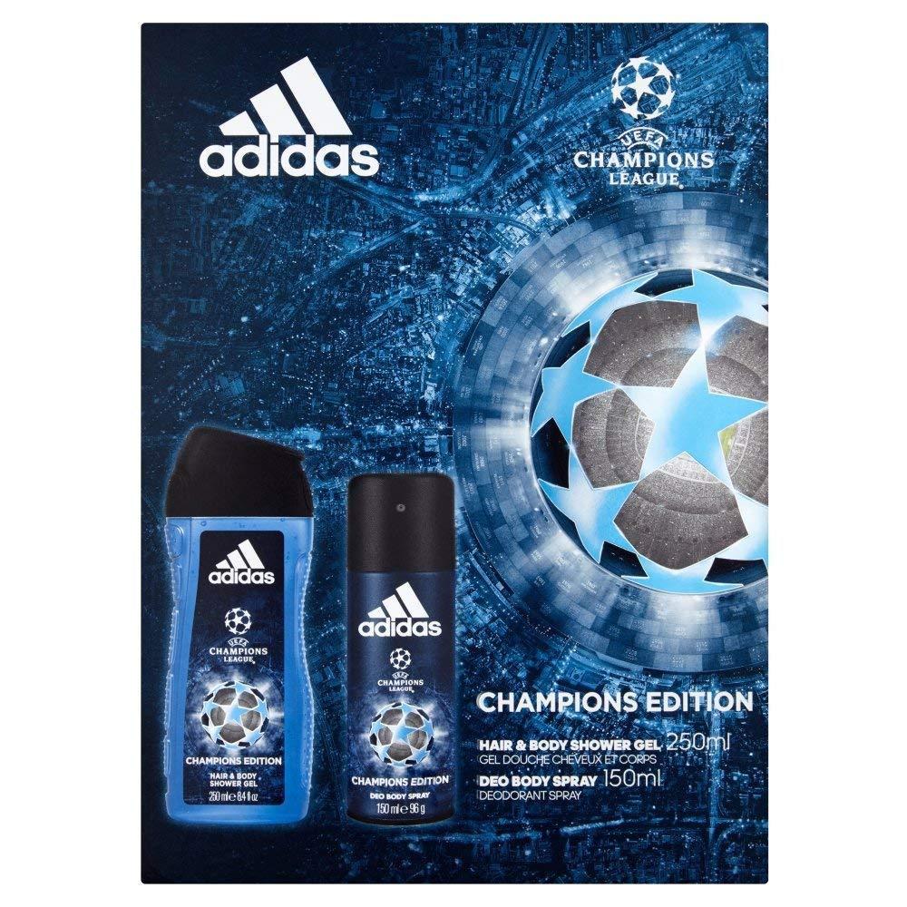 Adidas UEFA Body Spray and Shower Gel Duo Gift Set Coty 31778174000