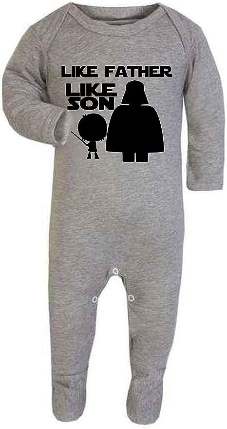 Pijama de bebé con texto en inglés «Like Father Like Son Star ...