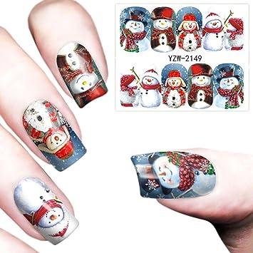 Amazon Voberry Christmas Nail Art Stamper Gel Tips Diy