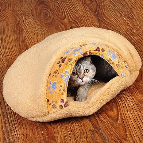 Likecom Cesta para Gato, Cama de radiador para Gato – Cojín de Cama de Terciopelo