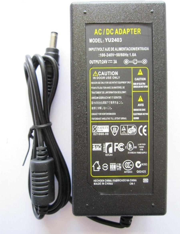 24V 3A 3000mA AC-DC Power Adaptor MP10 Vortech Power Head for a Fish Aquarium