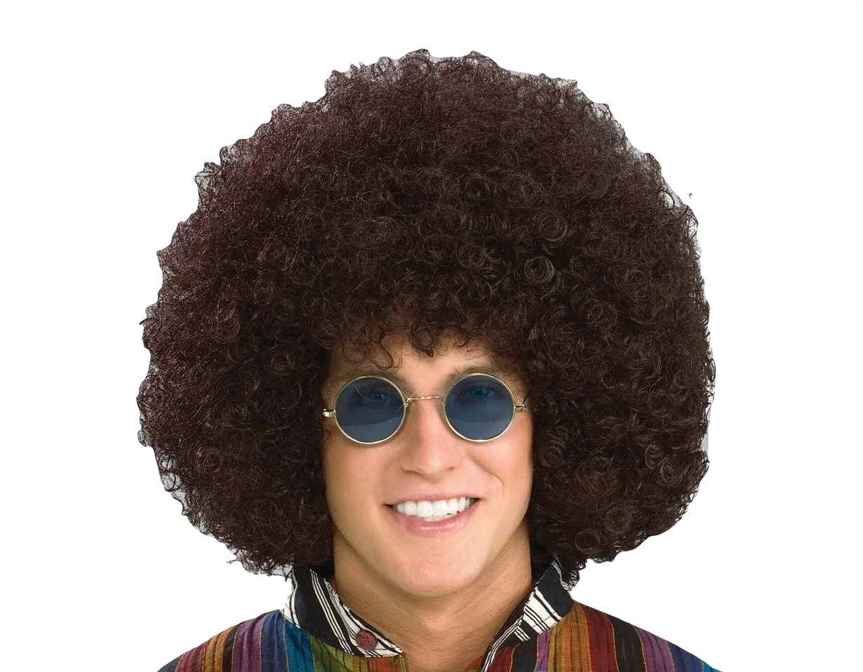Forum Novelties Men's Jumbo Afro Hippie Costume Wig Black 79921