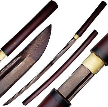 Amazon.com: Musha Japonés Shirasaya, Espada Samurai, Katana ...