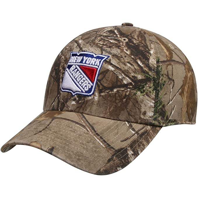 36d7f260a2c New York Rangers The League Realtree Camo 9FORTY Adjustable Hat   Cap