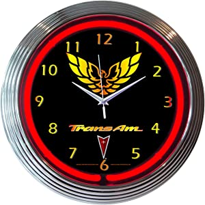 GM Trans Am Neon Clock