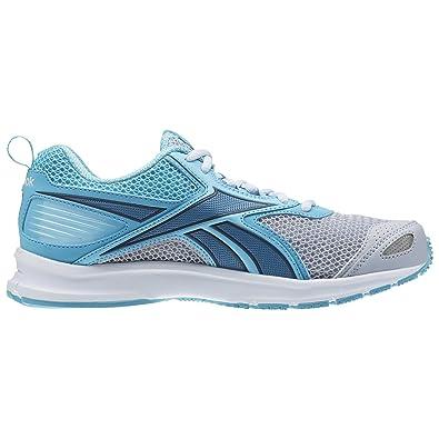 Reebok Women's Triplehall 5.0 Running Shoes, Gris (Cloud Grey/Crisp  Blue/Slate